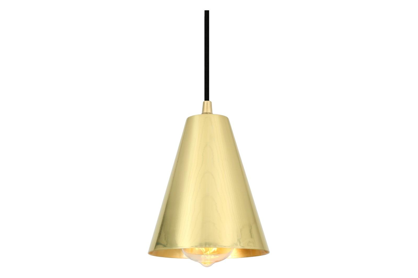 Moya Pendant Light Polished Brass