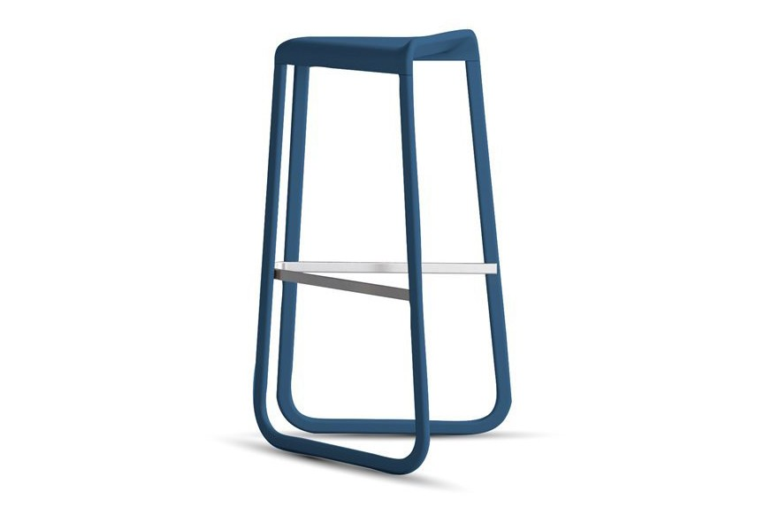 Myg 726 Barstool Matt Colour Denim blue F74, Matt Colour Denim blue F74, 80