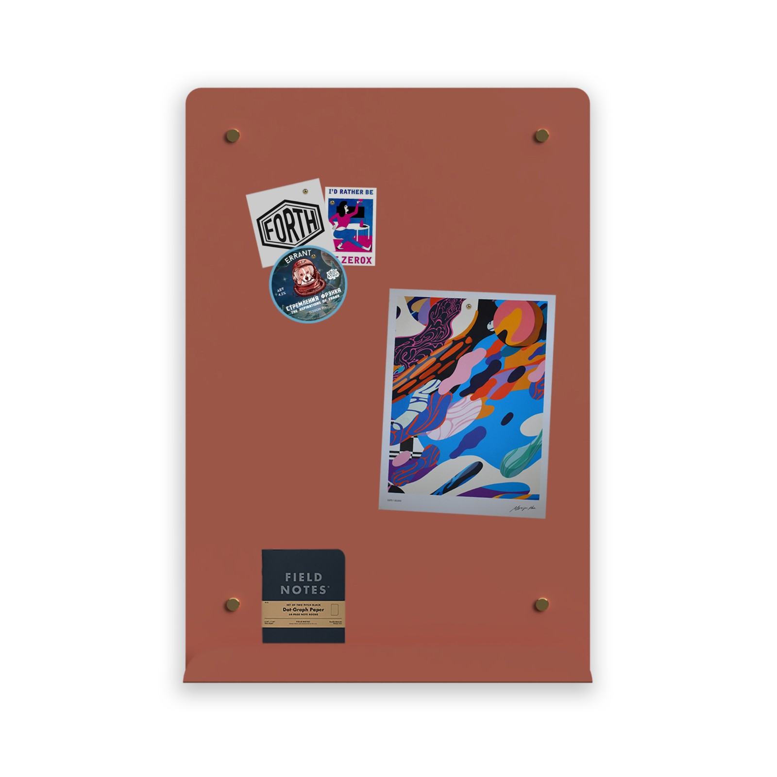 Myosotis Portrait Notice Board Coral Reef