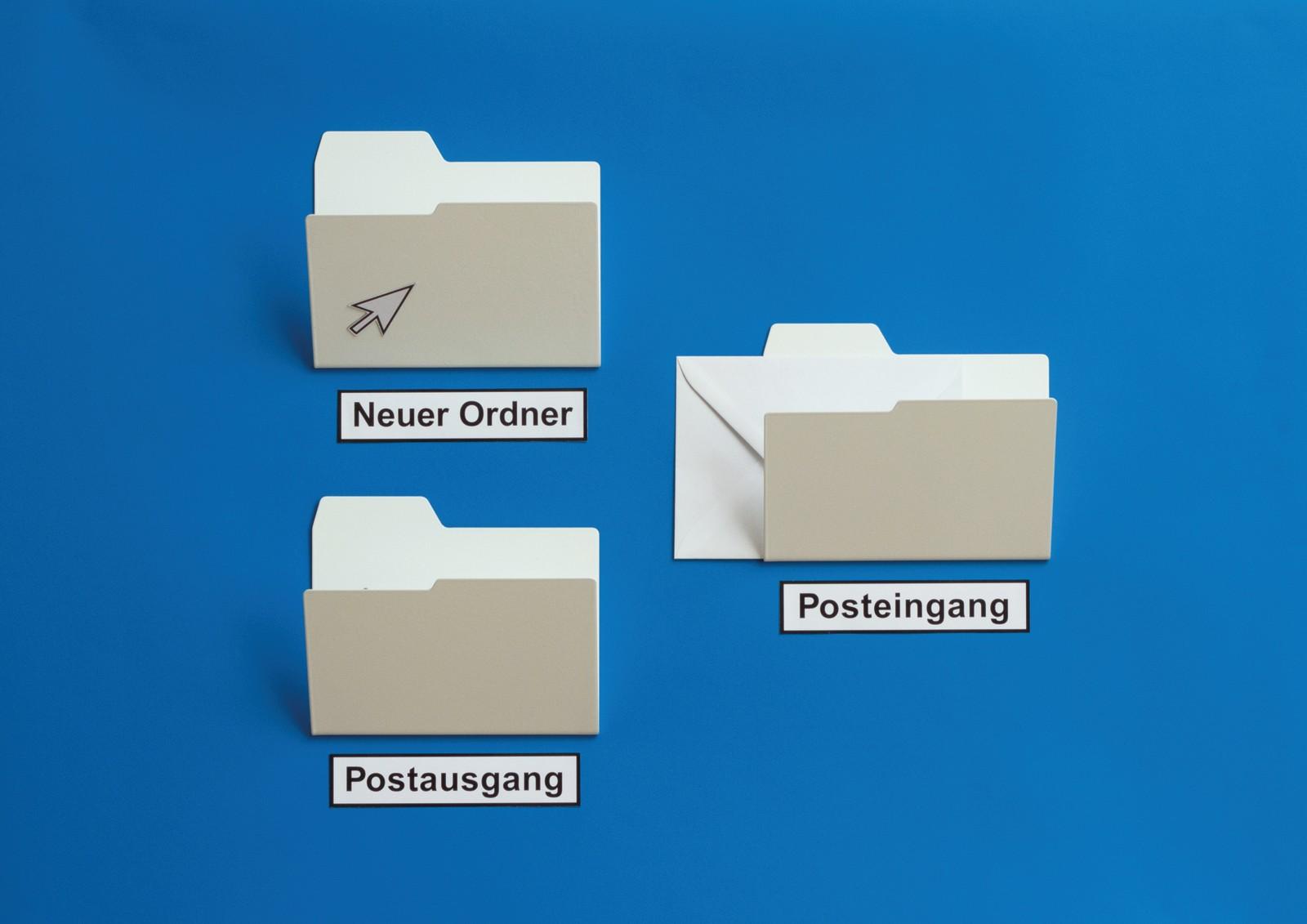 New Folder Magazine Rack White, Mini