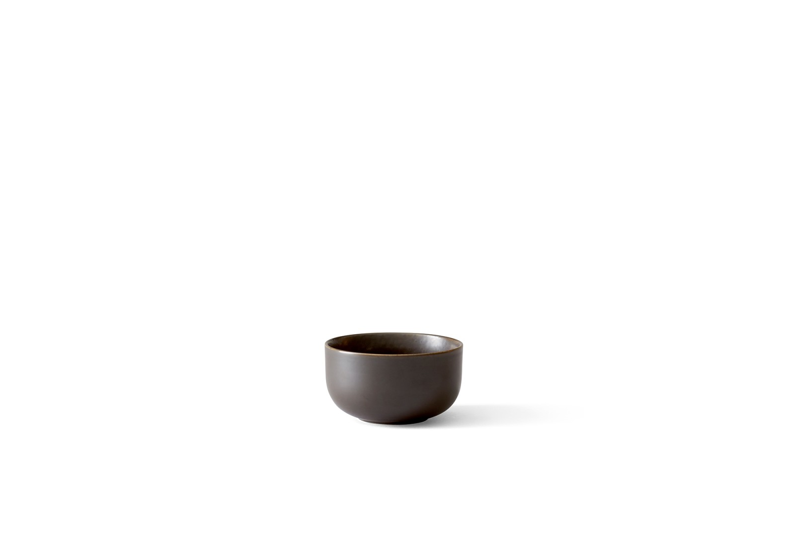 New Norm Bowl Ø 10, Dark Glazed