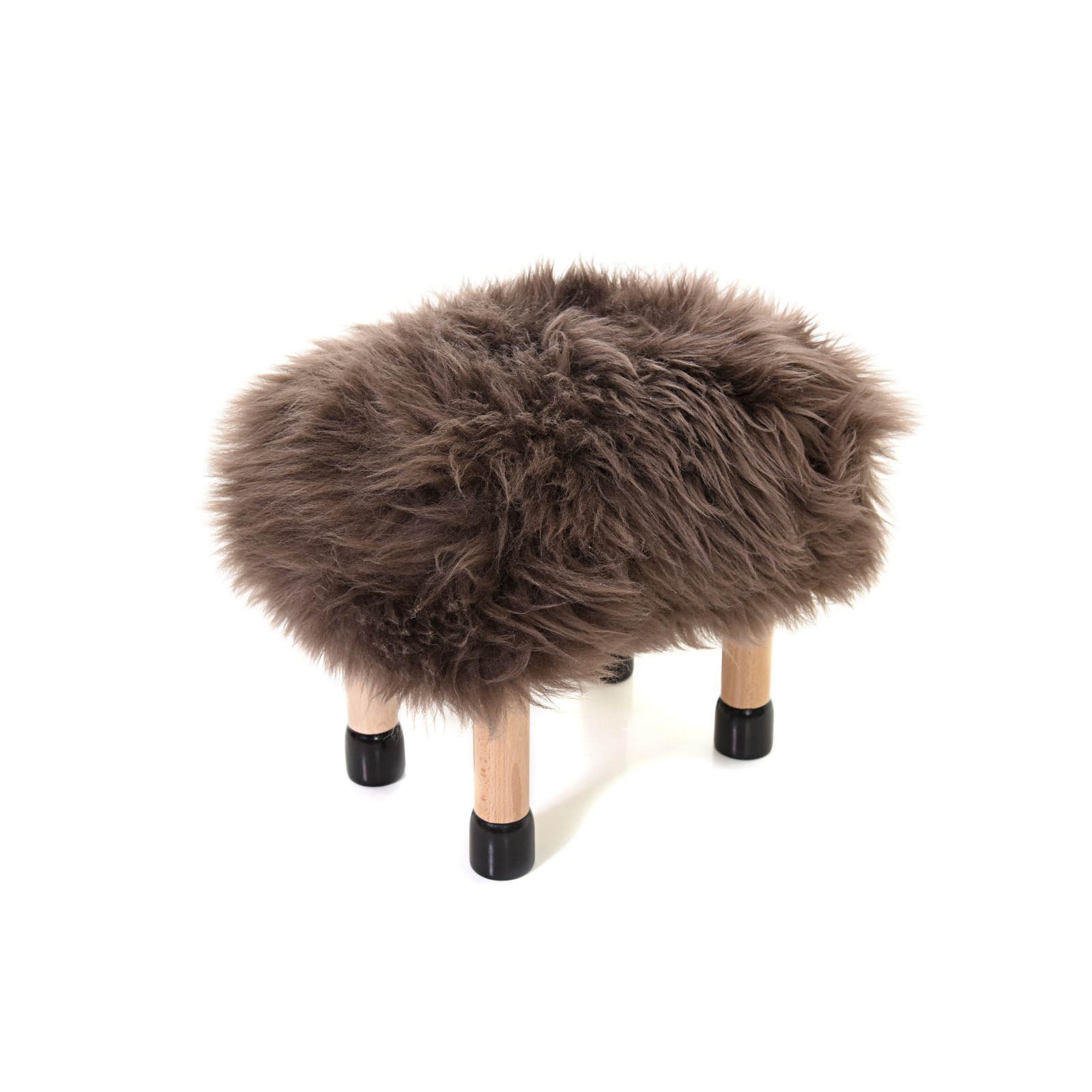 Baby Nia - Children's Sheepskin Stool Baby Nia in Mink