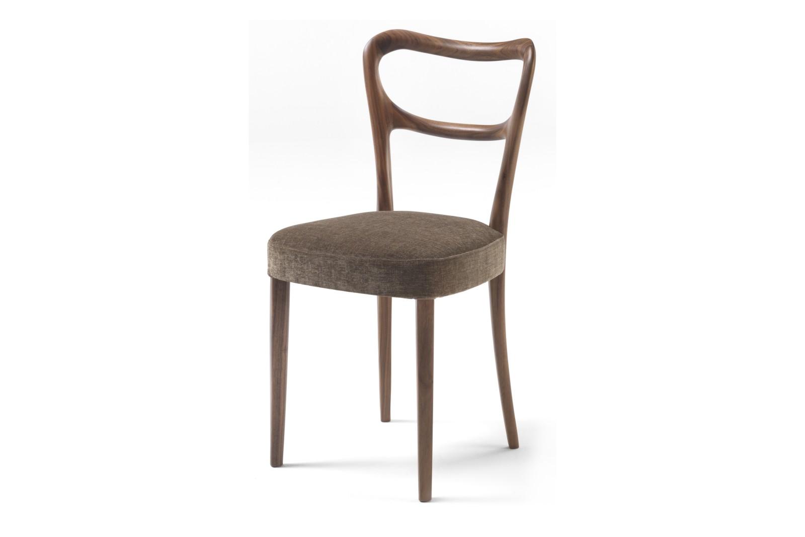 Noemi Dining Chair Canaletta Walnut, Rabat 11524/3
