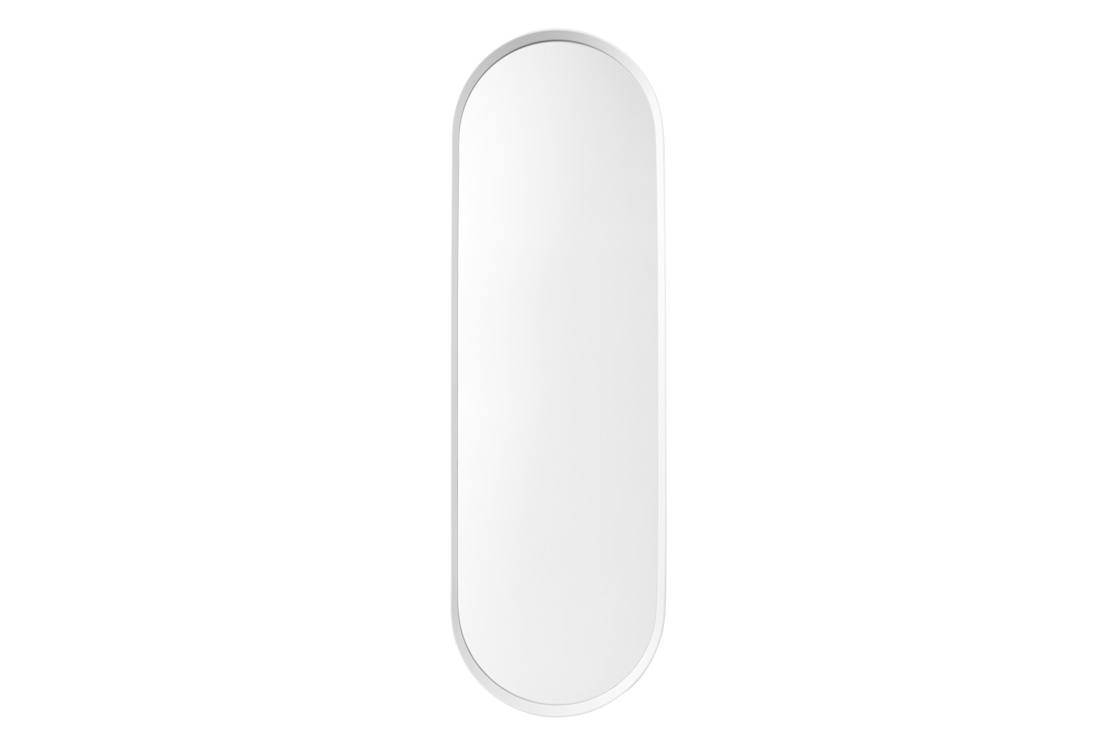 Norm Oval Mirror White