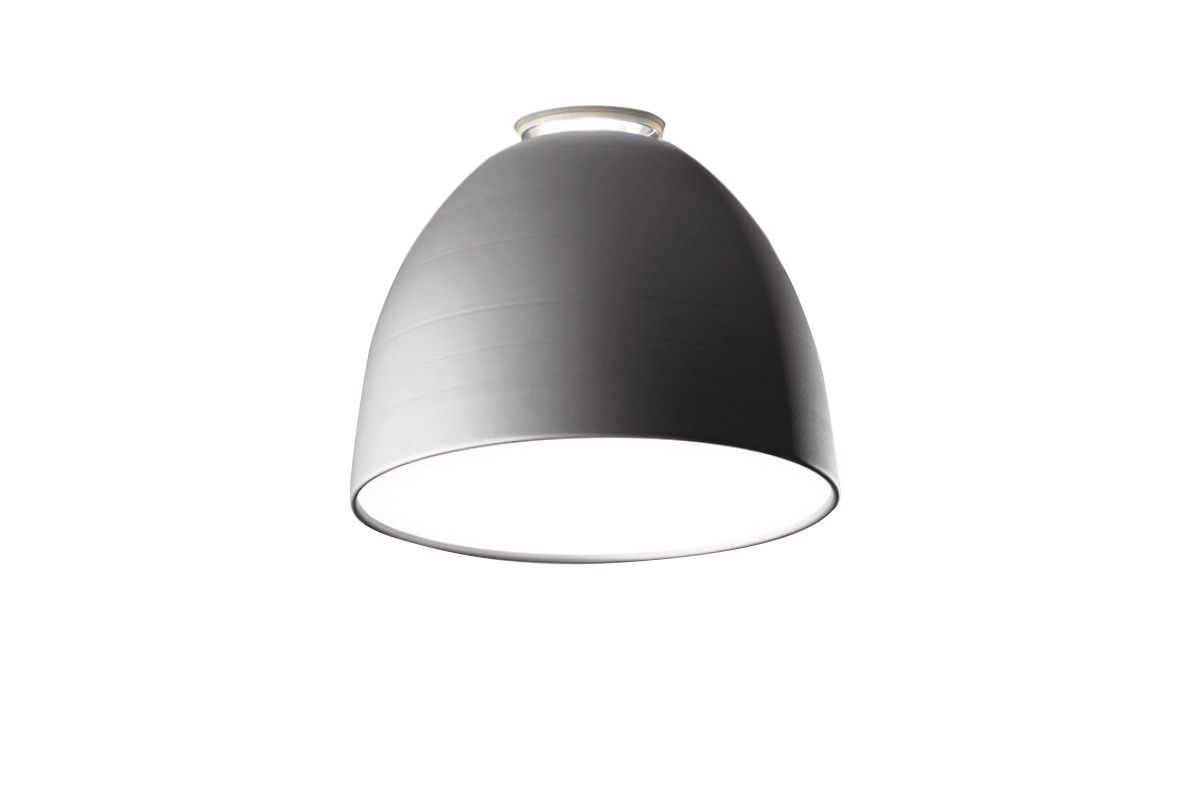 Nur Mini LED Ceiling Light Aluminium Grey