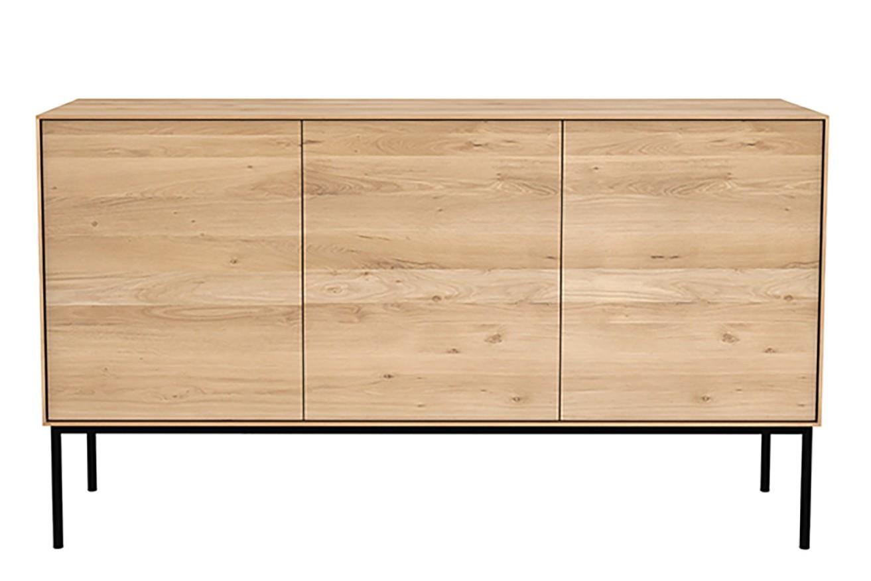 Oak Sideboard with 3 Doors Whitebird