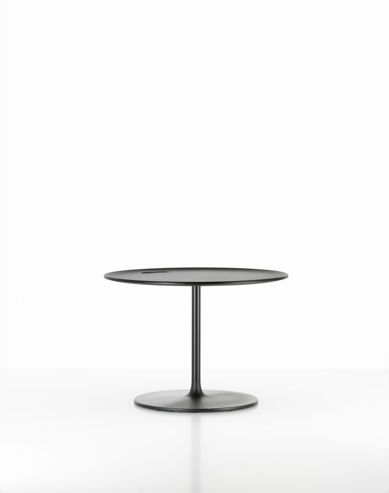 Occasional Low Table Aluminium, Powder-Coated Chocolate