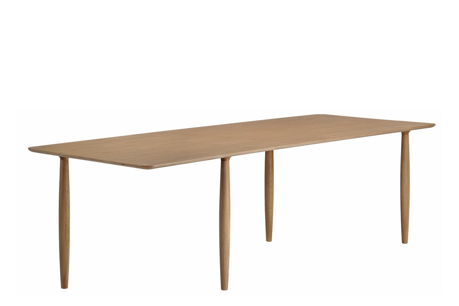 Oku Dining Table Smoked, 250 cm