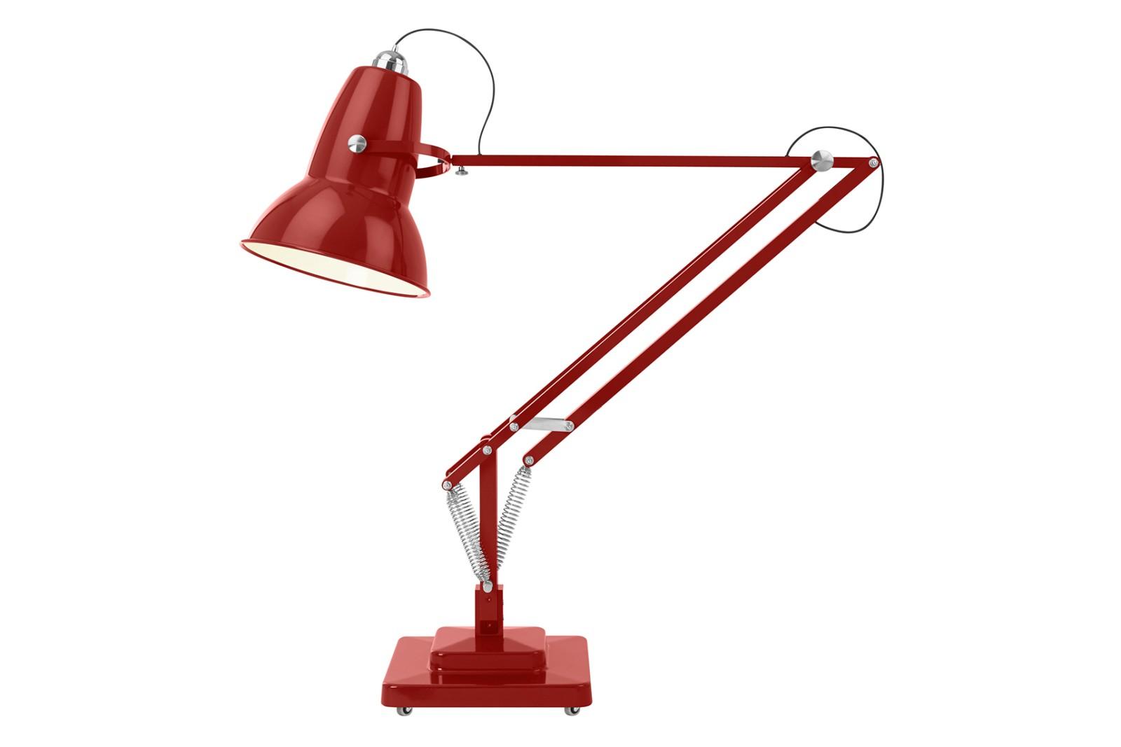 Original 1227 Giant Floor Lamp Crimson Red