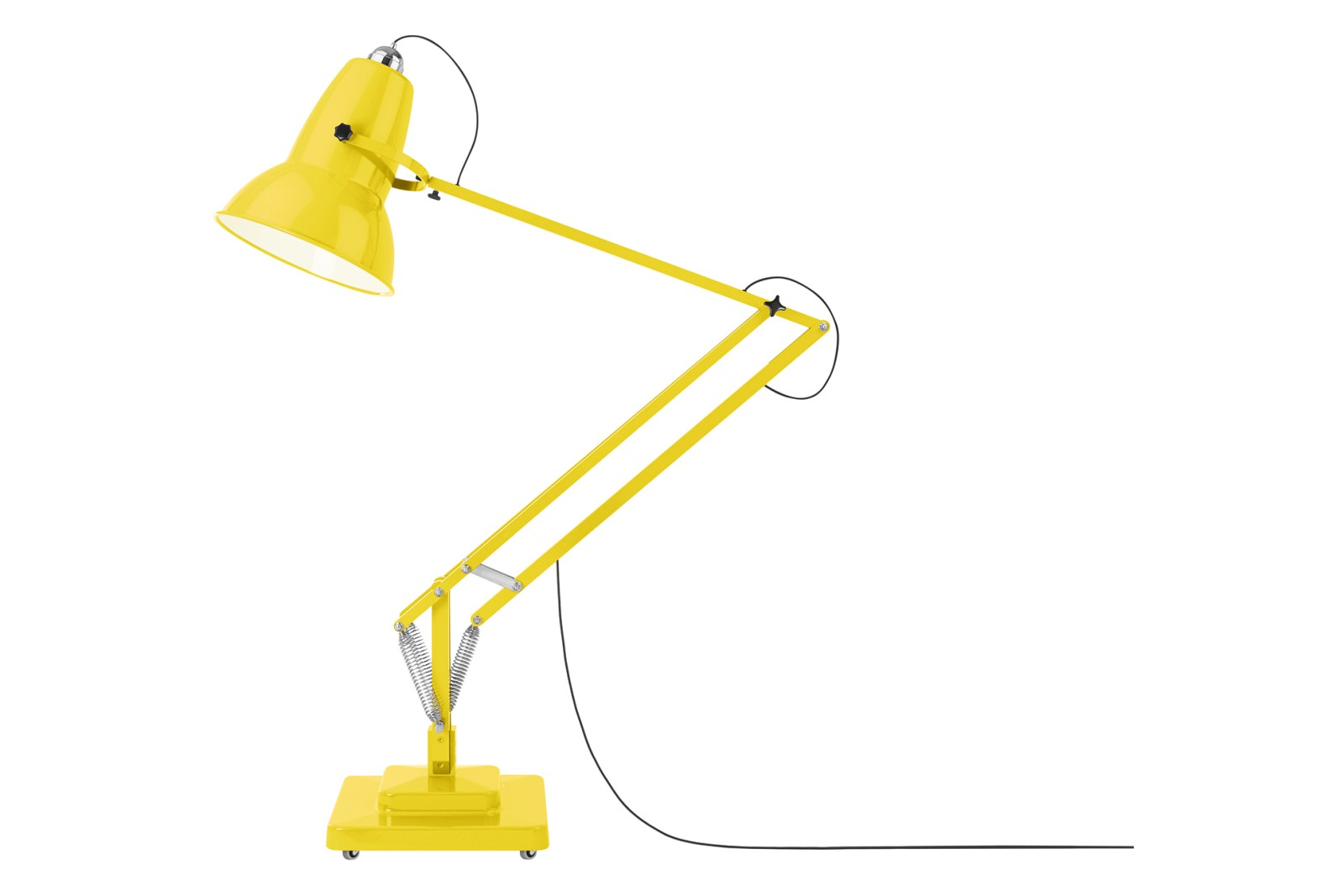 Original 1227 Giant Outdoor Floor Lamp Citrus Yellow