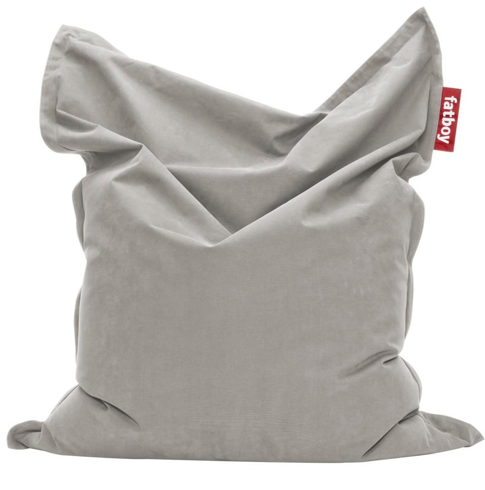 Original Stonewashed Bean Bag Silver Grey