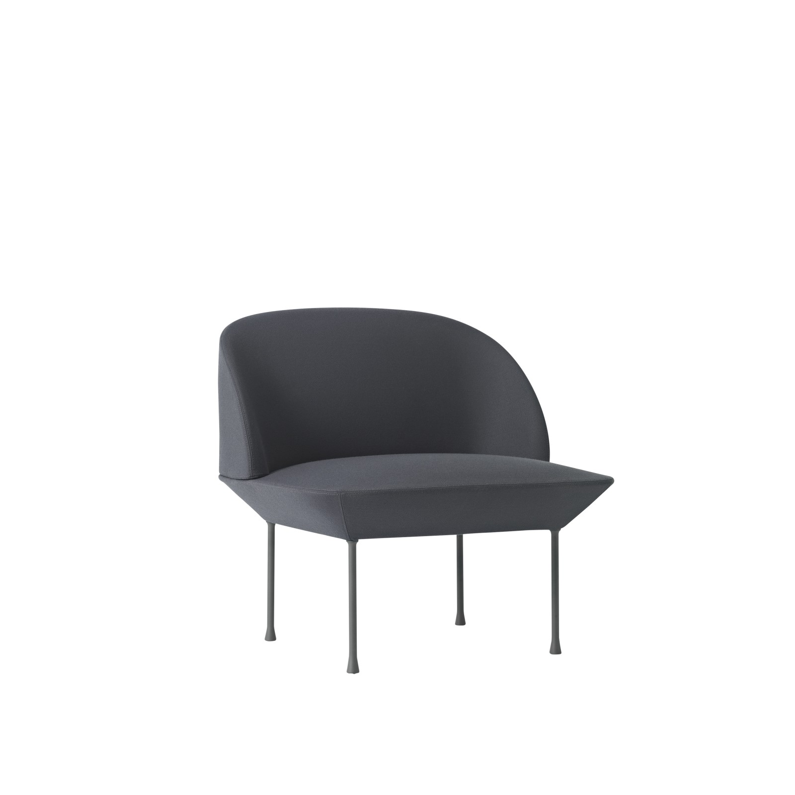 Oslo Lounge Chair oslo lounge chair Skai Parotega NF black
