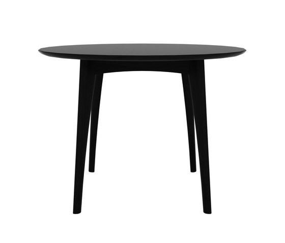 Osso Round Dining Table High, Blackstone