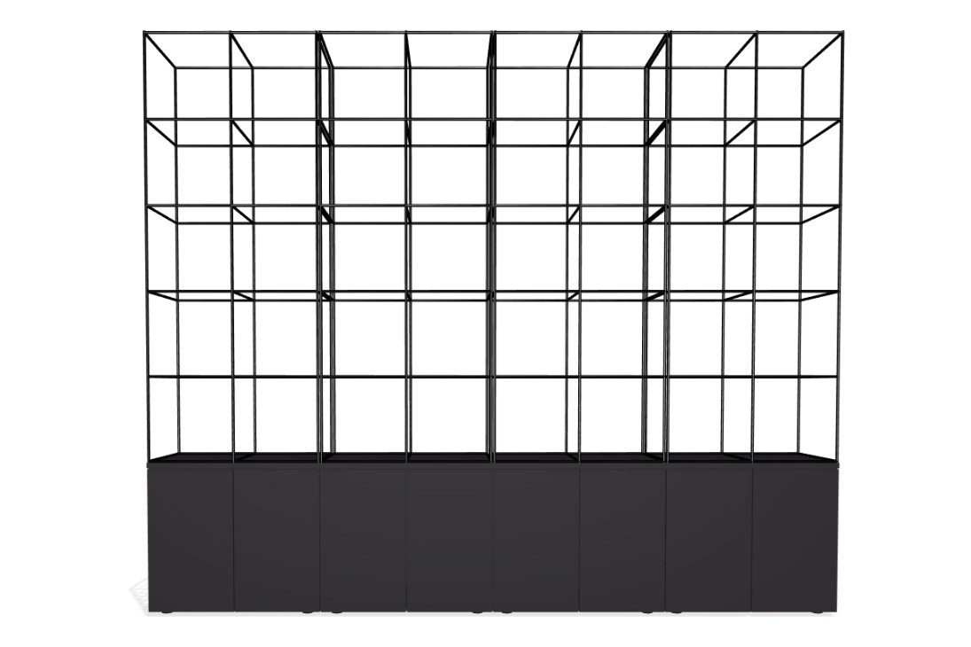 Palisades Grid - 8 Wide Palisades Grid - 8 Wide 5-high 72-base