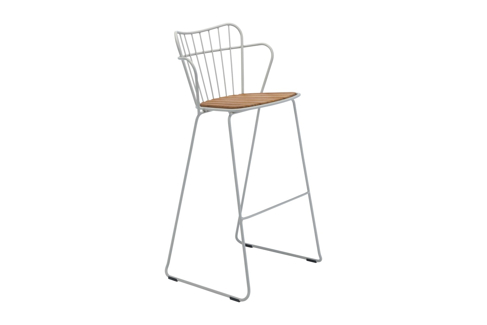 Paon Bar Stool Taupe, without cushion