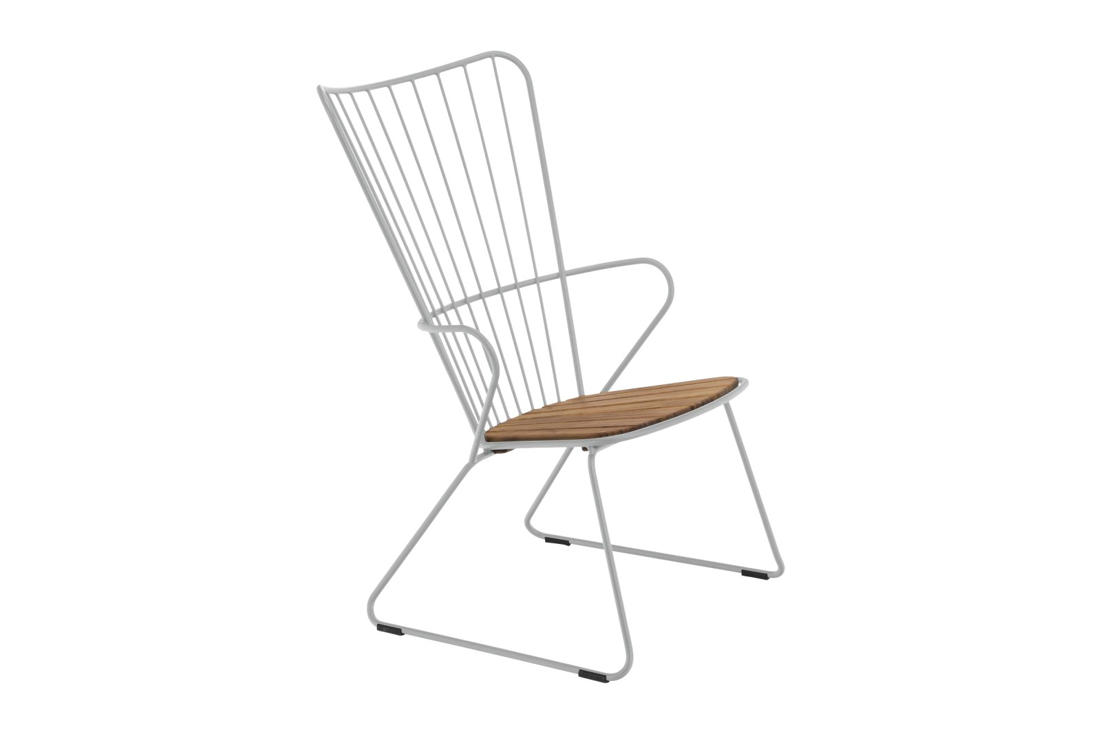 Paon Lounge Chair Taupe, without cushion