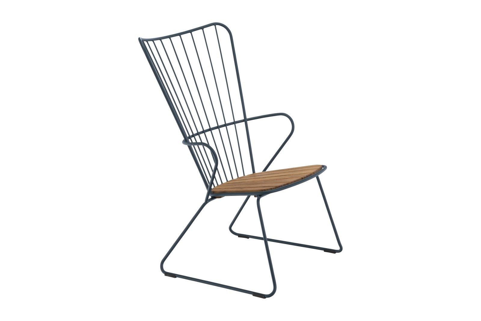 Paon Lounge Chair Midnight, without cushion