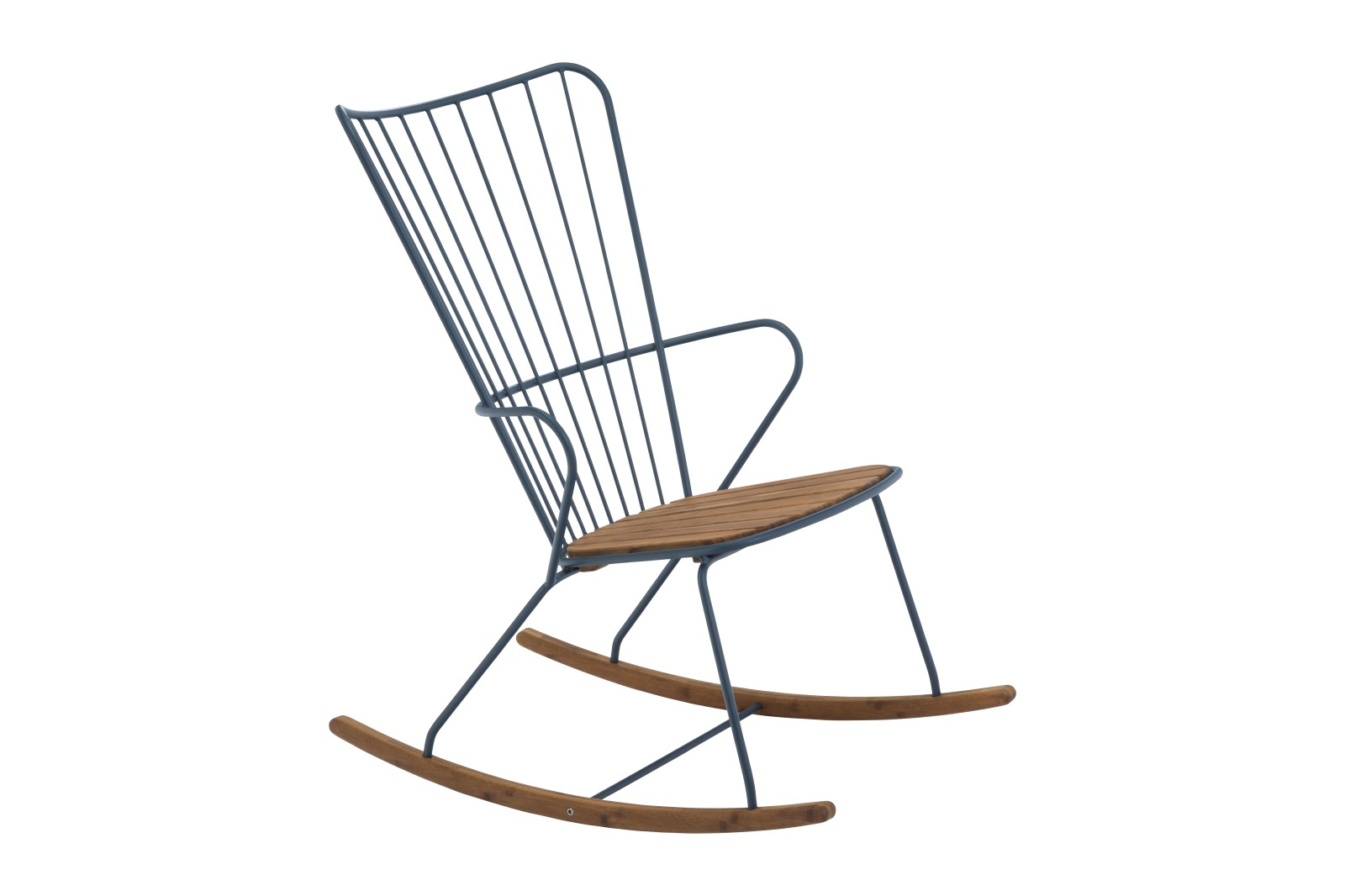 Paon Rocking Chair Midnight, without cushion