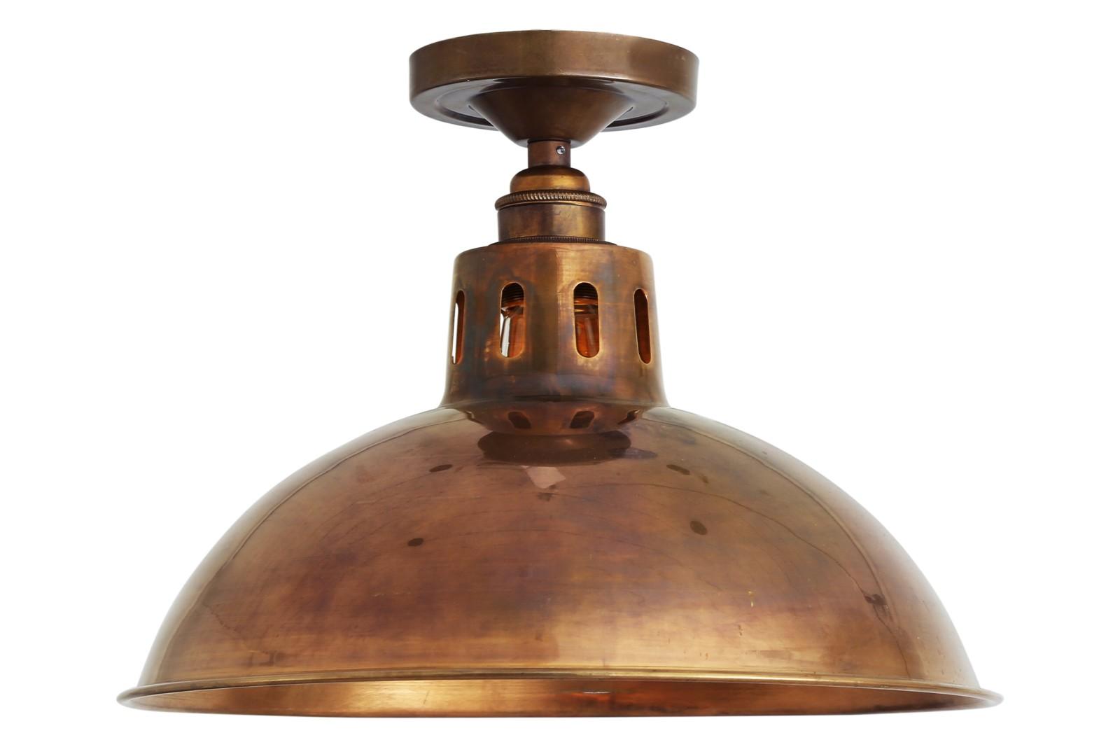 Paris Ceiling Light Antique Brass