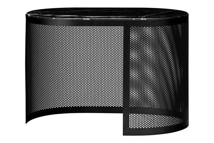 Pausillus Side Table Black, Medium
