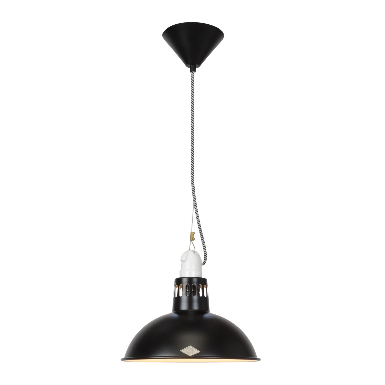 Paxo Pendant Light Black