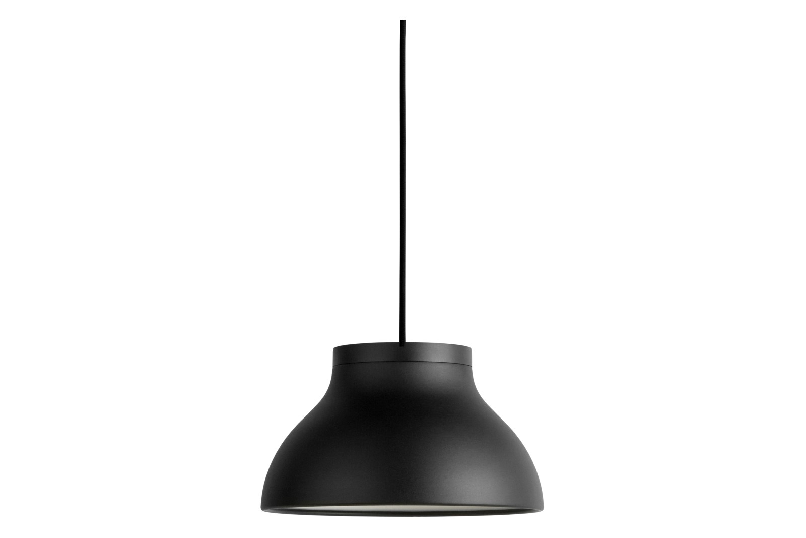 PC Pendant Small Light Metal Soft Black