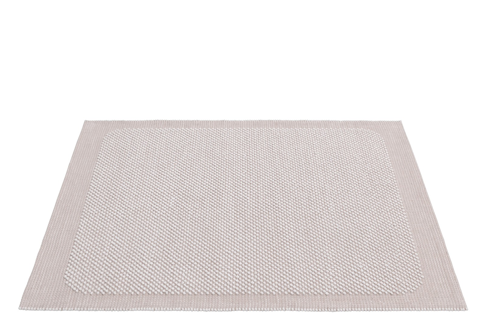 Pebble Rug Pale Rose, Small