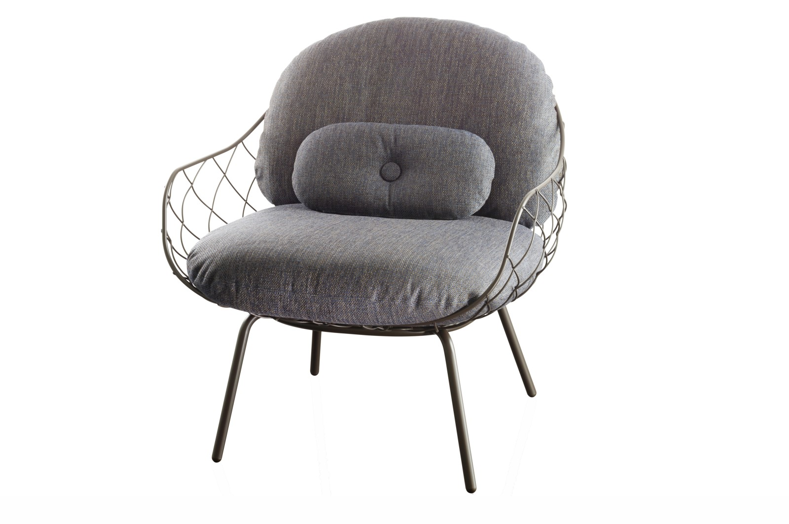 Piña Low Chair Grey