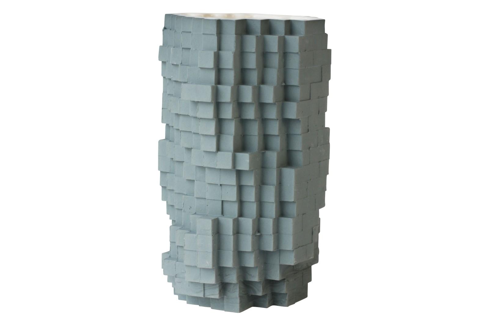Pixel Vase Number 0251, Medium