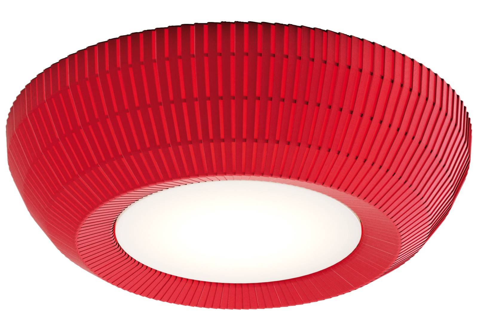 PL Bell Ceiling Light Red