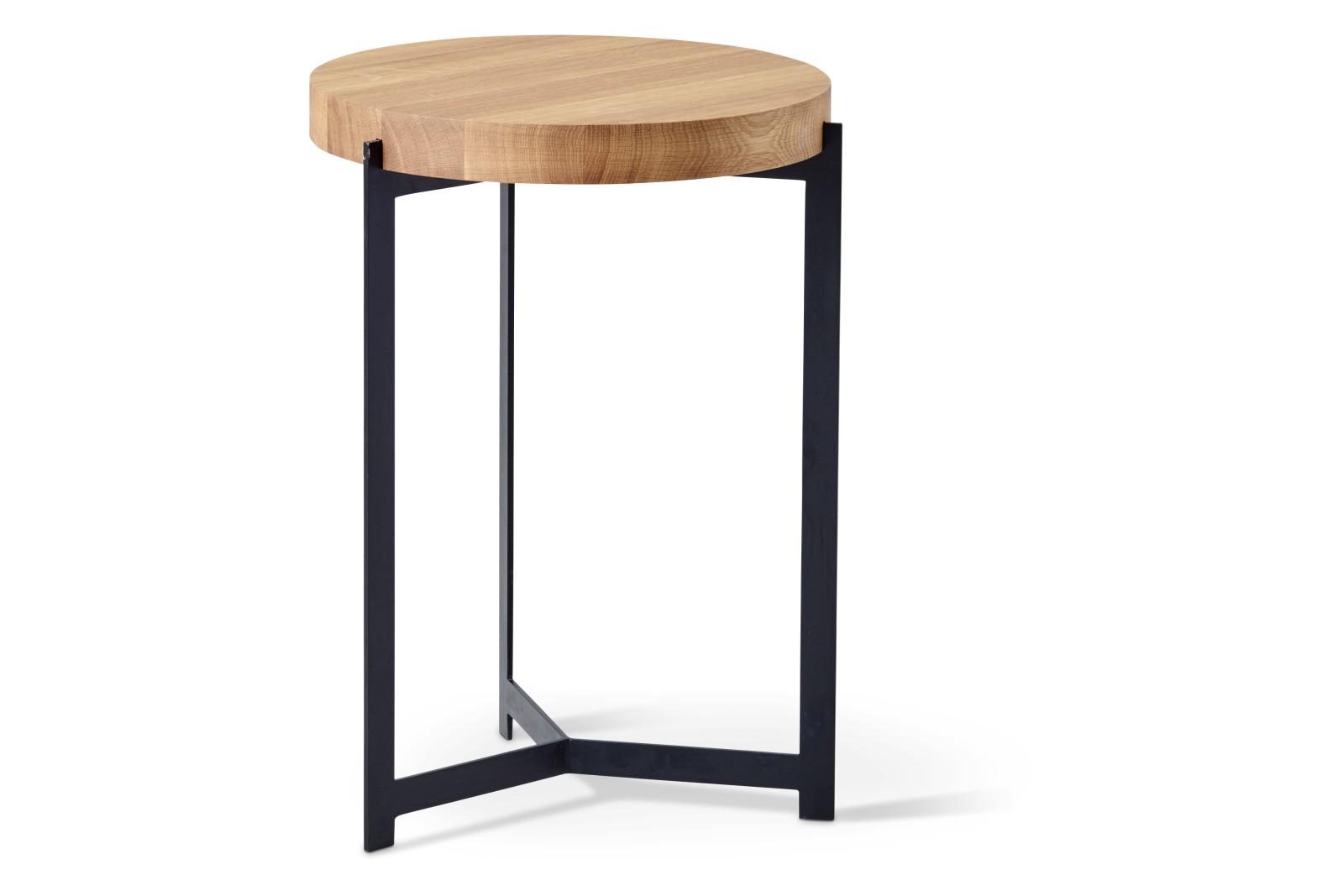 Plateau Side Table Oak Oil Treatment, 35cm