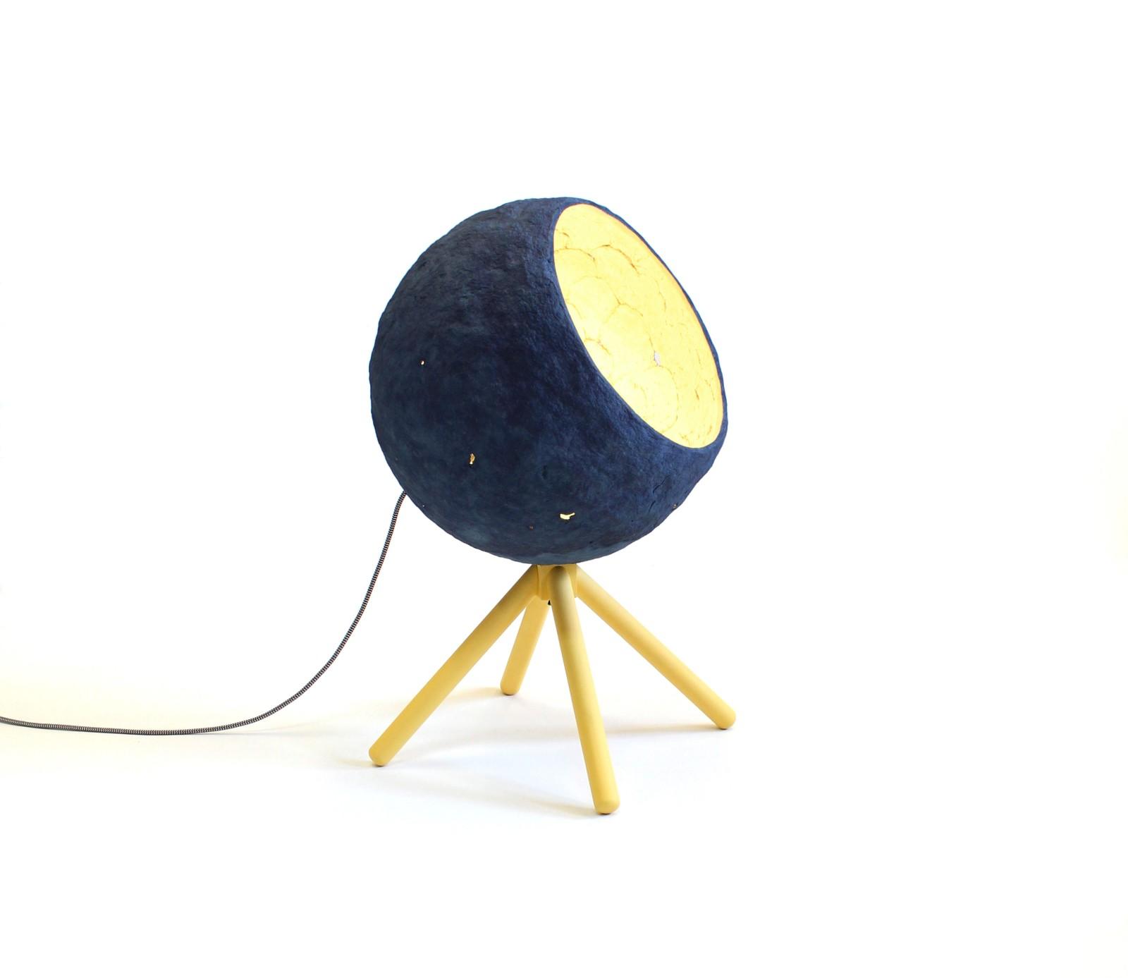 Pluto Paper Pulp Floor Lamp Pluto floor