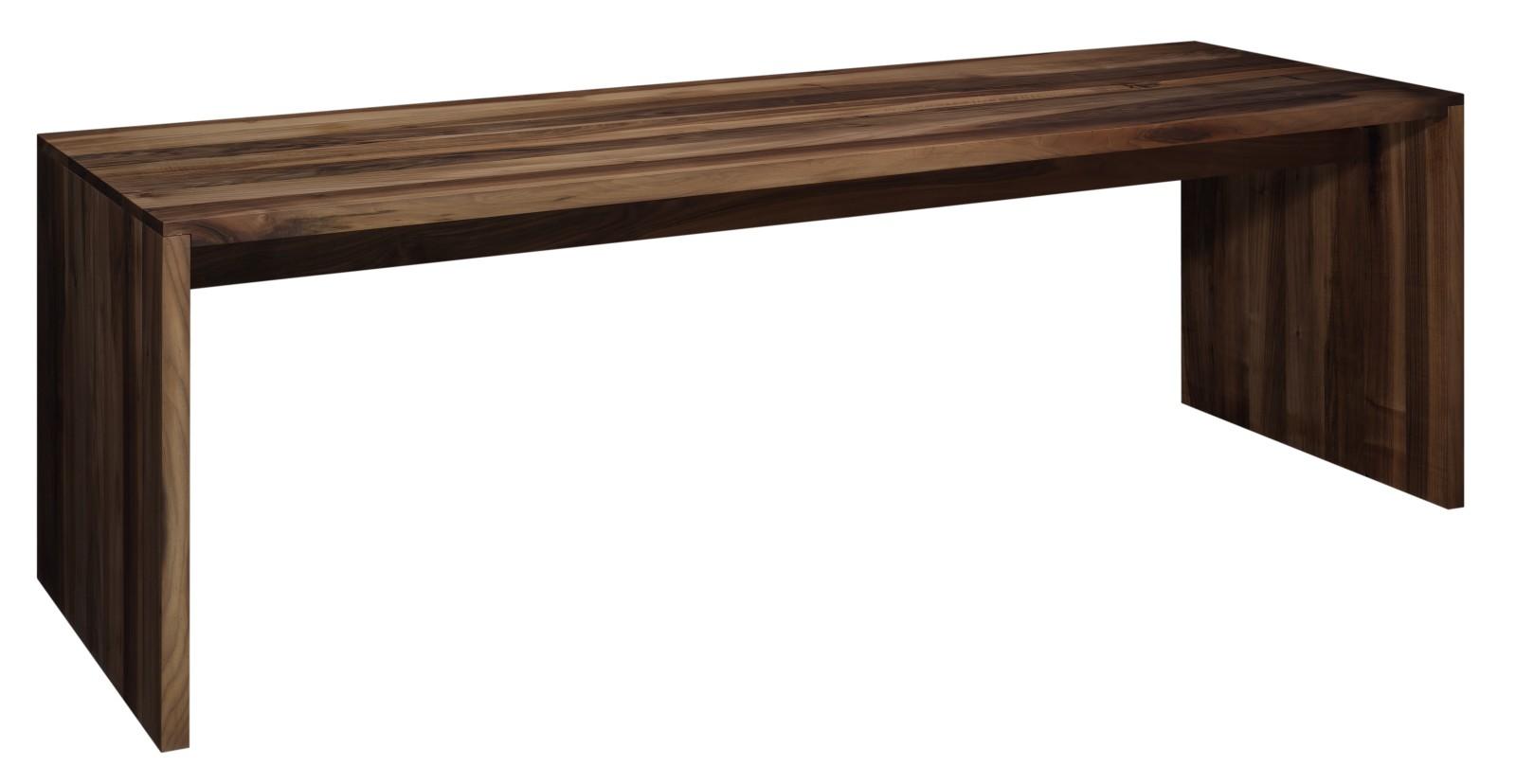 Ponte Table European Walnut, Oiled, 300, 92