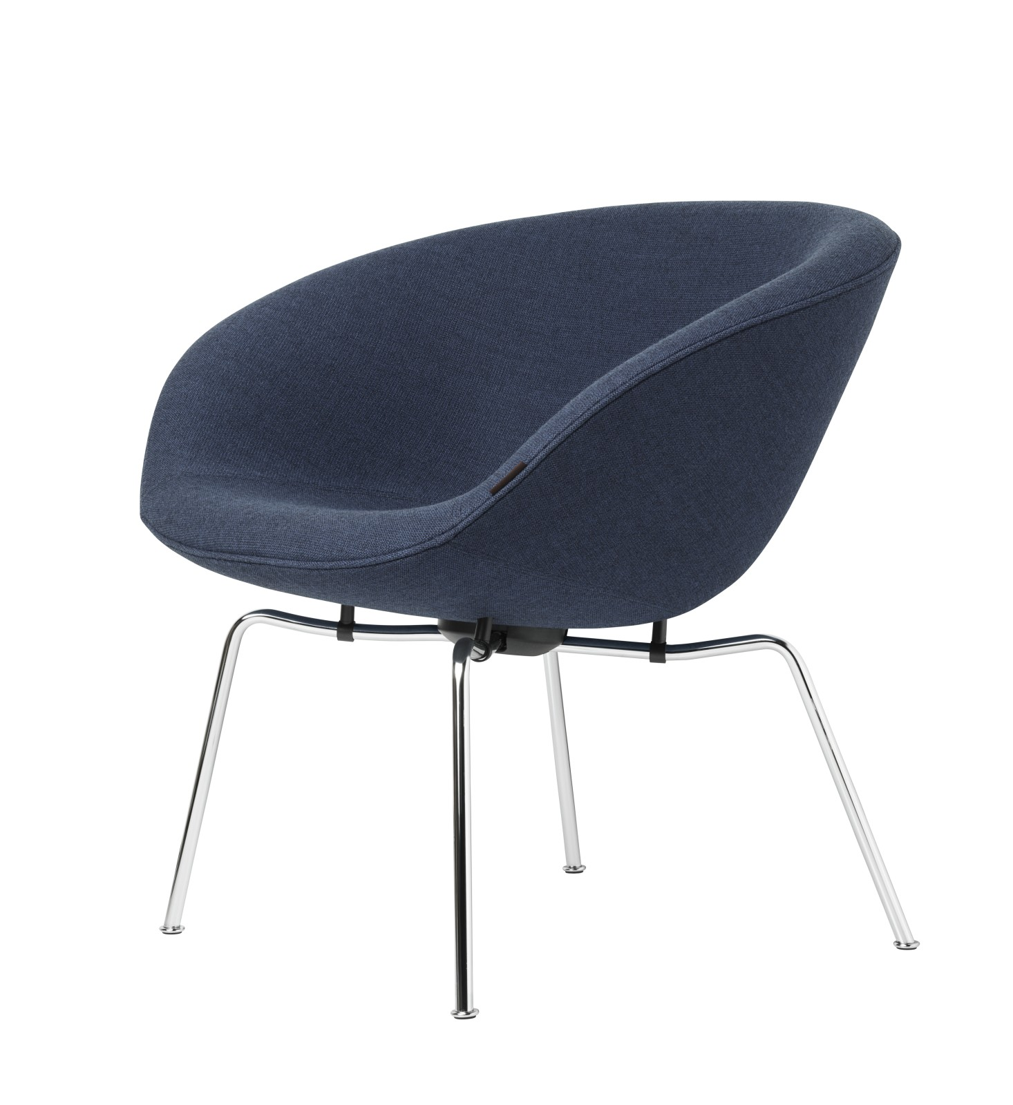 POT™ Lounge Chair Fritz Category 2, Chromed