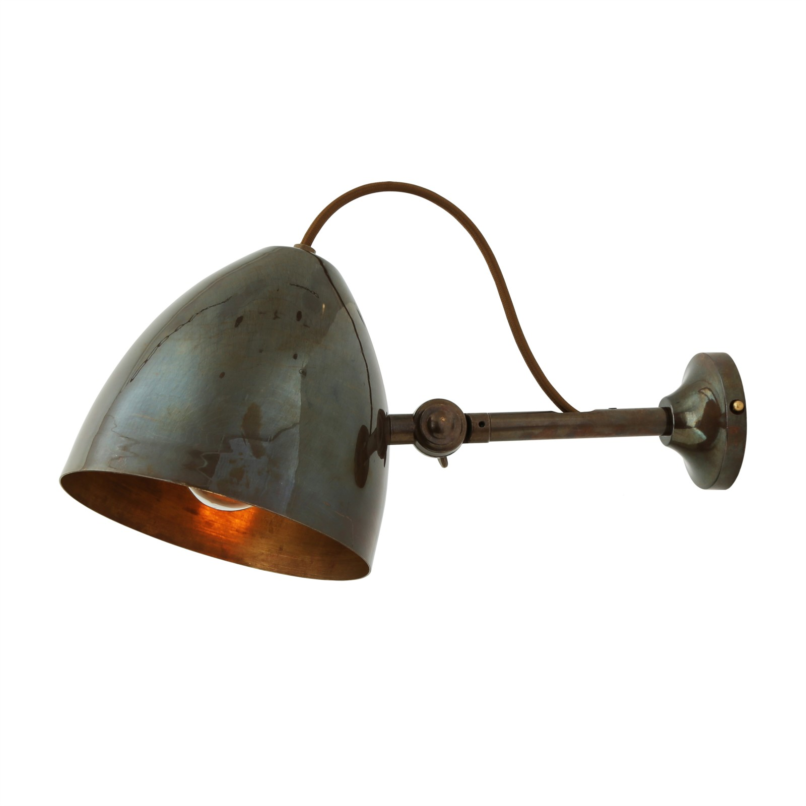 Quito Wall Light Antique Brass