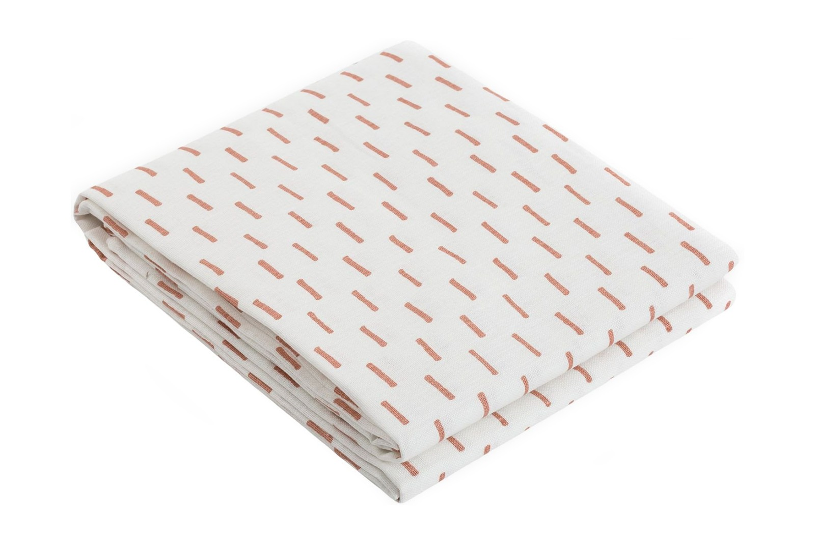 Rain Tablecloth Peach