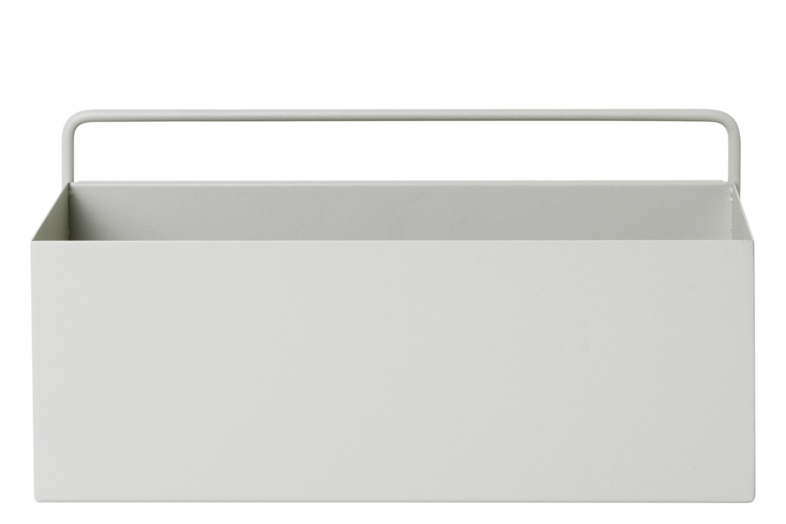 Rectangular Wall Box - Set of 2 Light Grey RAL7044