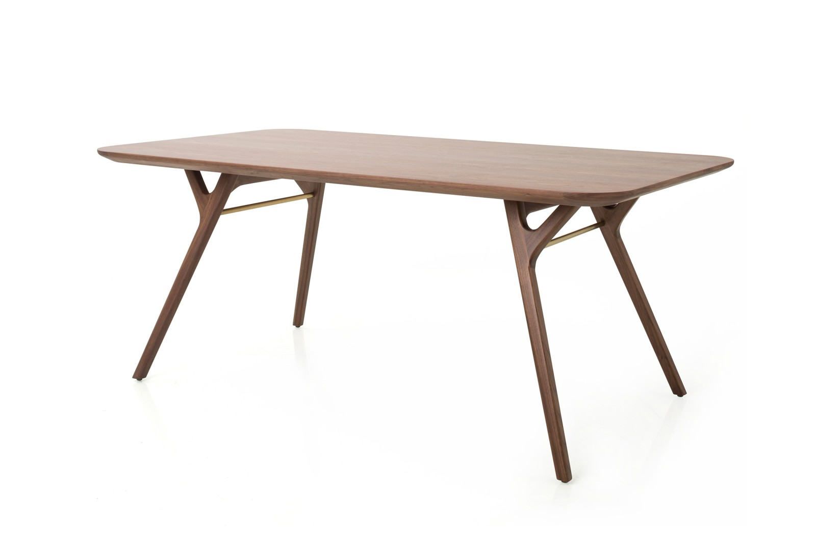 Re n Dining Table Wood Natural Walnut, W1800