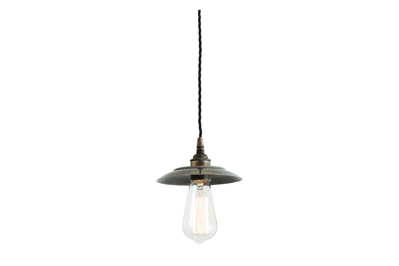 Reznor Pendant Light Antique Silver