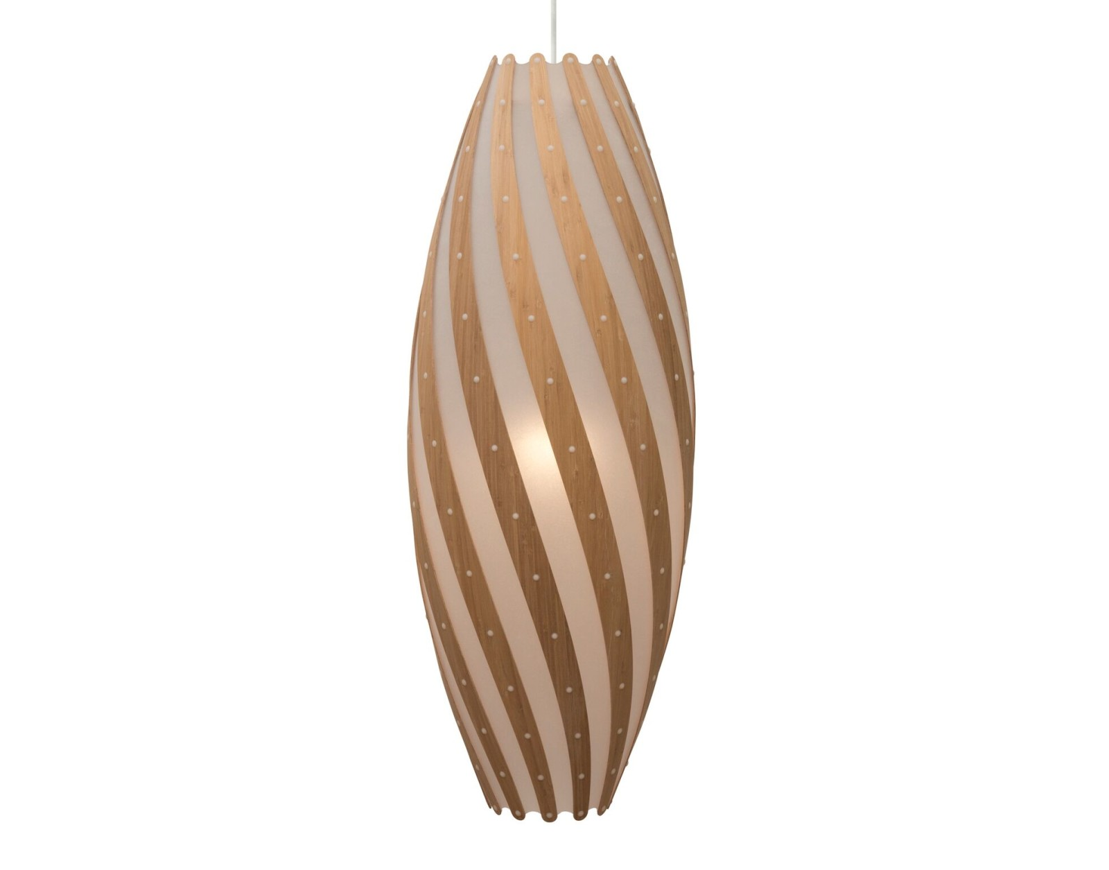 Roll Pendant Light Caramel