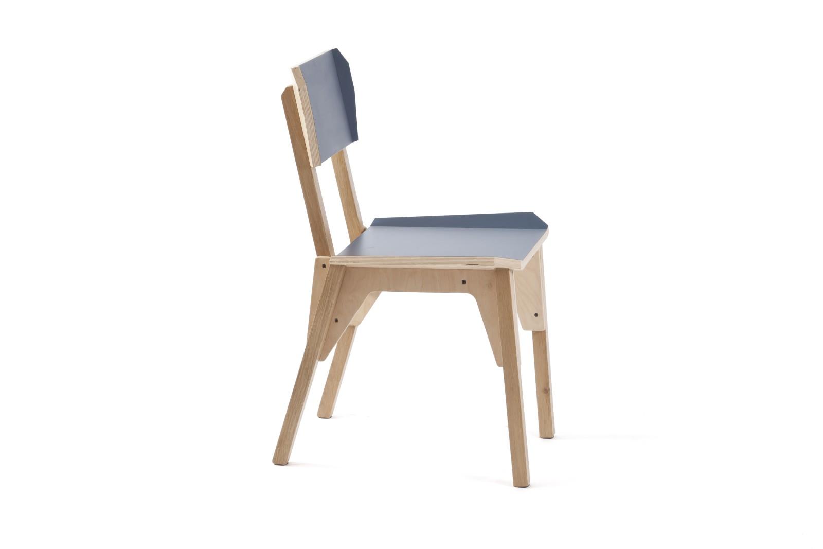 S-Chair Dark Blue