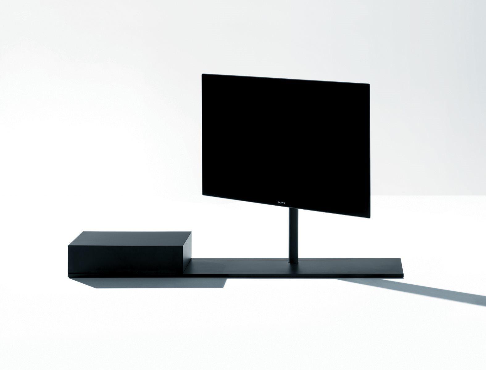 Sail 302 TV Stand System B06, H 94cm, No Shelf, W 190cm, Right TV Positioning, B59 Matt Black