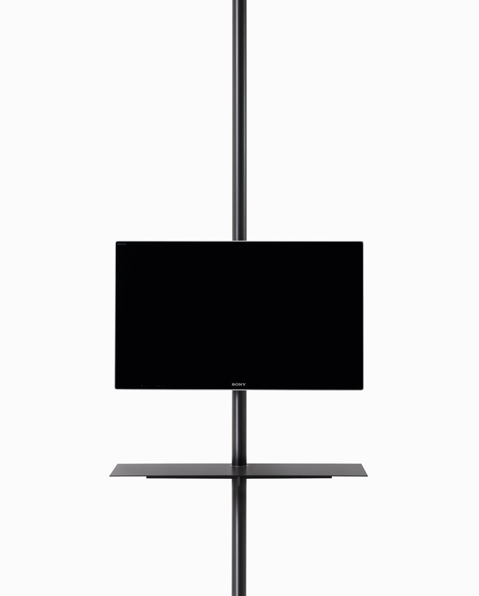 Sail 307 TV Stand System B59 Matt Black, 94cm, Yes