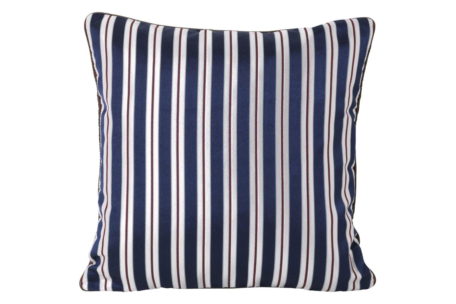 Salon Cushion - Set of 2 Pinstripe, 40 x 40 cm