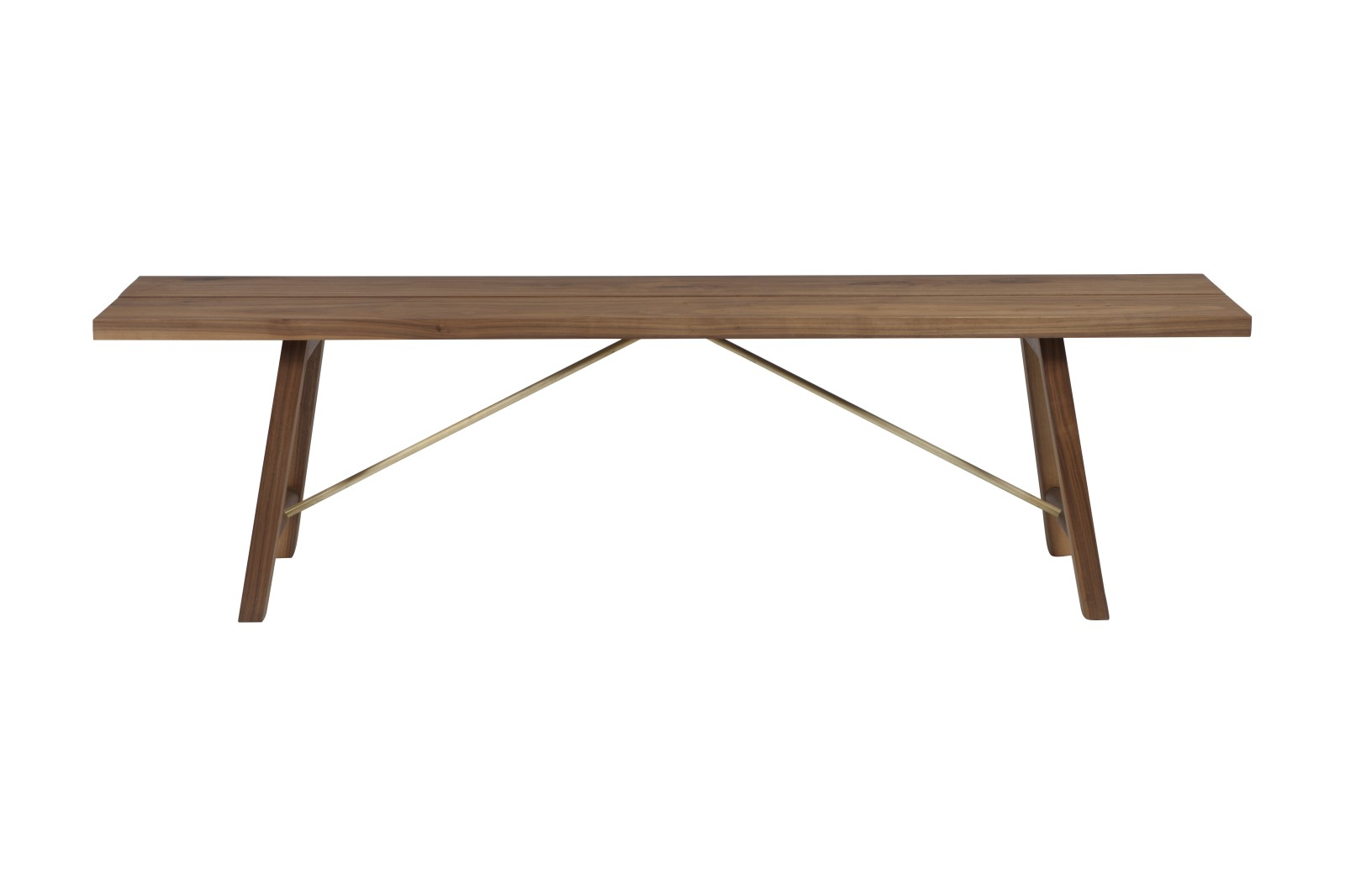 Seating Bench Two Walnut, 160