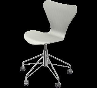 Series 7 Swivel Chair Coloured Ash Nine Grey 155
