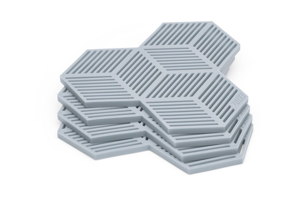 Sico Coaster - Set of 4 Grey