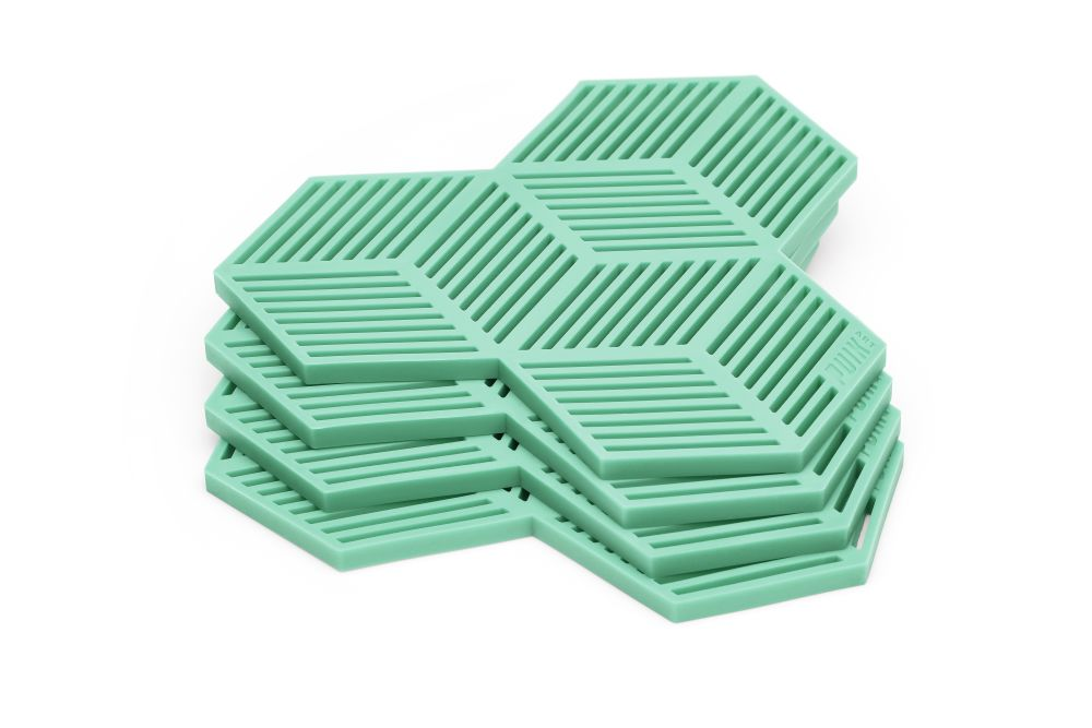 Sico Coaster - Set of 4 Mint Green