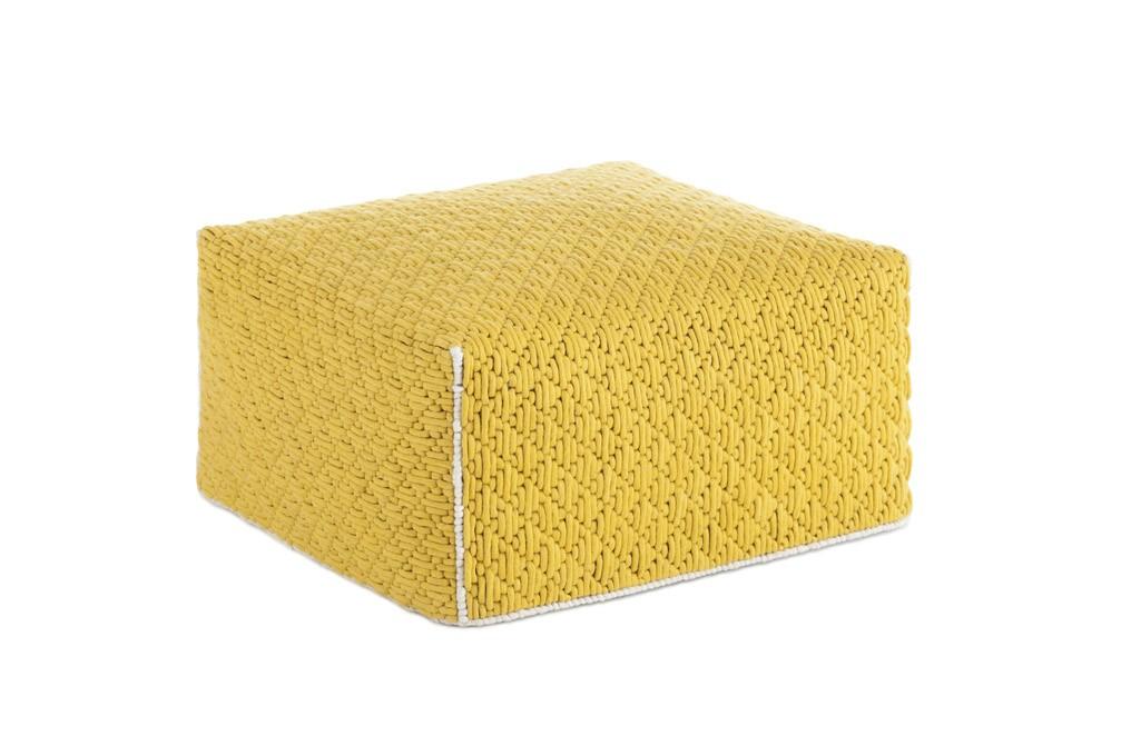 Silaï Big ottoman Yellow