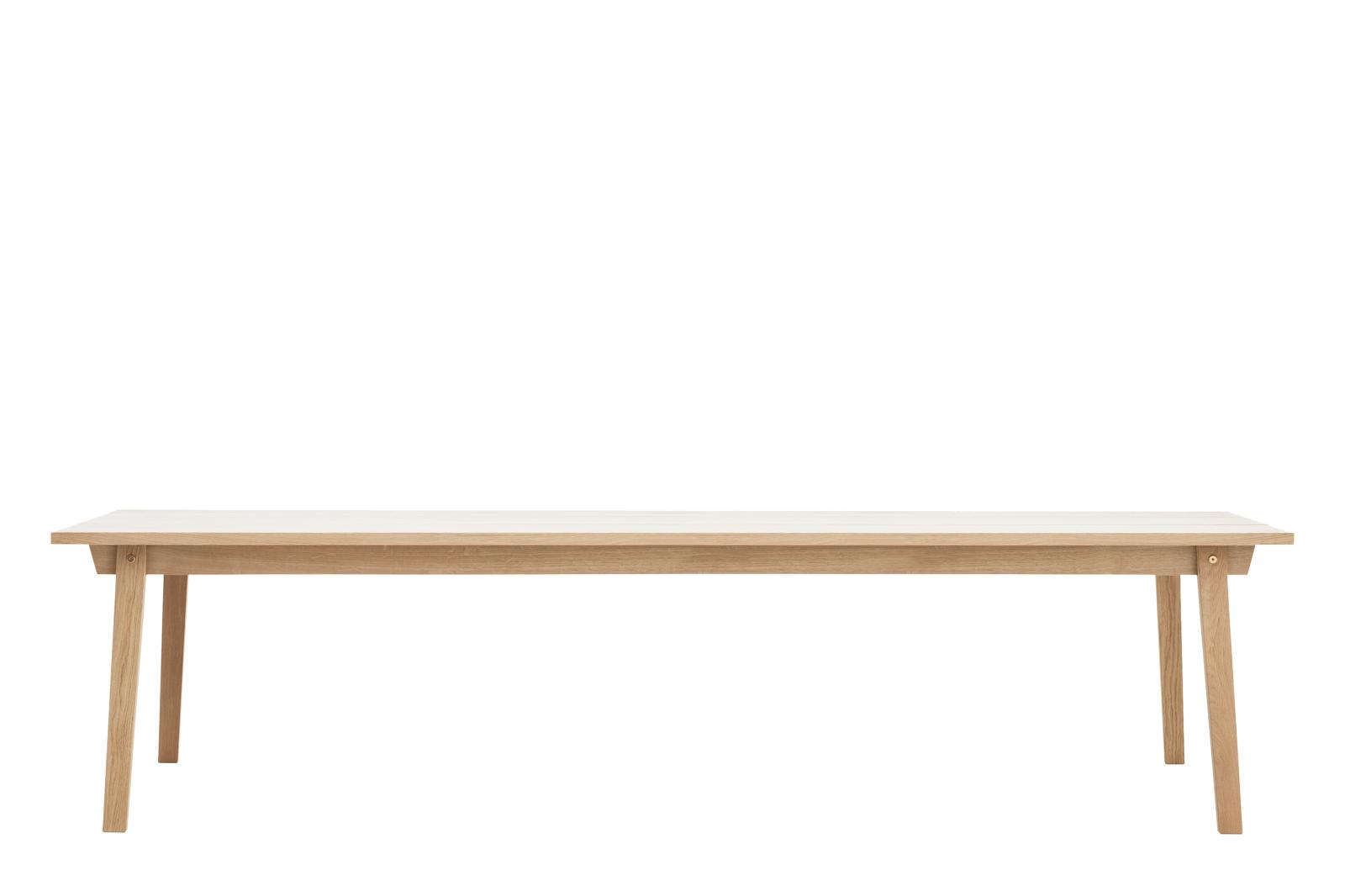 Slice Dining Table - Rectangular NC Oak, 90 x 300 cm